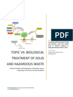 Biological Treatment Solid Hazardous Waste