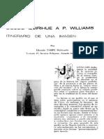 """Chile """"La imagen de la Virgen del Carmen de la iglesia de Pto. Williams"""""""