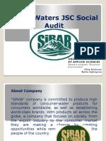Sirab Waters JSC Social Audit Oleg Andreev; Naila Aghayeva