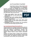 Strategi Menyusun Proposal Bisnis Yang Efektif