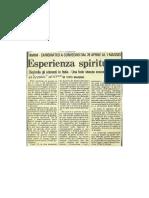 Esperienza spiriuale