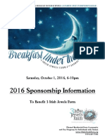 BreakfastUnderTheStars2016SponsorshipPacket