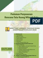 254049092 Pedoman Penyusunan Rencana Tata Ruang Wilayah Kota PDF