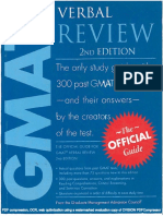 GMAT OG Verbal Review 2nd Edition