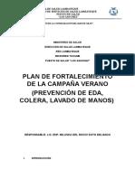 Plan Campaña Verano 2016