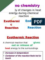 Thermochemistry SPM form 5