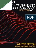 Walter Piston - Harmony