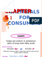 Chemicals for Consumers SPM
