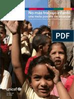 No Mas Trabajo Infantil UNICEF