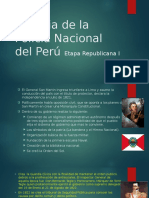 Historia de La Policía Nacional Del Perú - Etapa I 06-Nov-2015