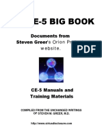 Steven Greer - The CE-5 Big Book (CE5-CSETI), 472 Pages