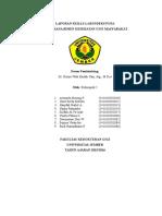 Cover Laporan Skills Lab Indeks Pufa