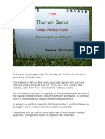 Thorium Basicsdraft