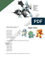Todas Las Claves de Los Pokemon Al 100% y Algunos Trukos