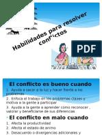 Habilidades para resolver conflicto