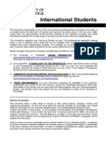 International Students Guide