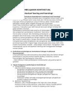 Medel Model Pembelajaran