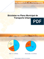 Bicicletas No Plano Municipal