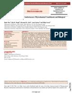 Combretum Quadrangulare (Combretaceae) - Phytochemical Constituents and Biological Activity