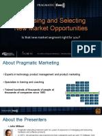Assessing New Markets Pragmatic Live Version4