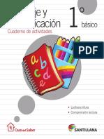 Cuadernillo Actividades 1 Basico Lenguaje