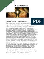 Acto de Fe y Adoración