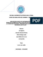 Contaminacion Por Desechos Solidos en Guayaquil