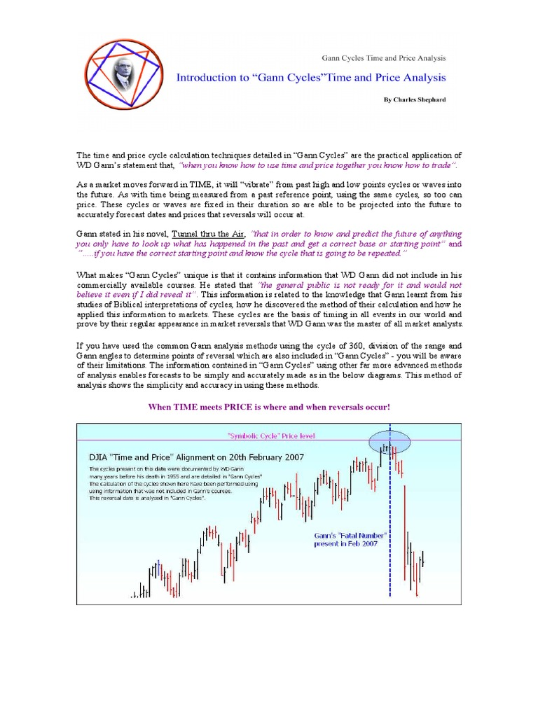 Gann Cycles Introduction 182 | Forecasting | Market Trend