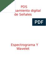 13 Espectrograma y Wavelet
