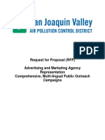 Advertising RFP 2010