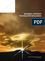 National Strategy for Disaster Resilience
