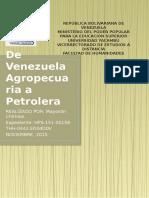 De Venezuela Agropecuaria a Petrolera_ Mayoslin Chirinos CUADRO COMPARATIVO HISTORIA de VZLA