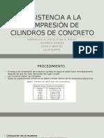 RESISTENCIA A LA COMPRESIÓN DE CILINDROS DE CONCRETO NORMA INV E- 410