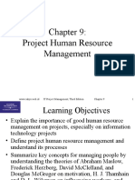 Chap09 Project Human Resource Management