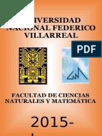Presentación Universidad Federico Villareal