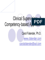 Clinical Supervision - Power Point Presentation