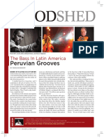 The Bass in Latin America Peruvian Grooves