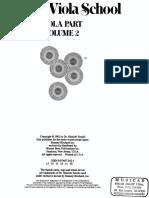 Suzuki Viola School Volume 02 PDF