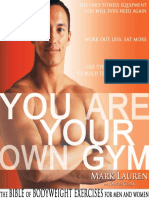 You Are Your Own Gym - The Bible of Bodyweight Exercises for Men and Women
