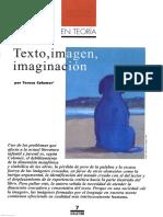 Teresa Colomer - Texto, Imagen e Imaginación