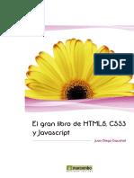 El Gran Libro de Html5 Css3 y Javascript