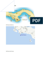 Peninsulas de Centro America