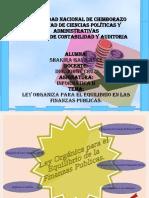 Ley Organica Equilibrio Finanzas Publicas en Impress