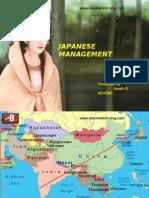Japanese Managment  by   SARATH G