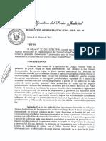 Res Adm 062-2015 Para Programar Audiencias de Juicio Oral