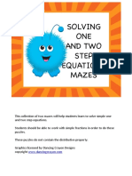 AlgebraSolvingOneandTwoStepEquationsMazesFREE.pdf