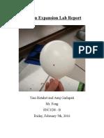 balloon expansion lab - yass hatahet - glenforest ss 2172