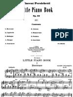 Persichetti - Op. 60 Little Piano Book