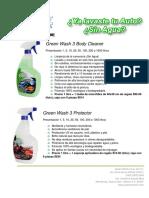 2014 Catálogo Green Wash 3 S.a de C.V.