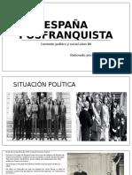 España Posfranquista. Contexto politico y social 1980-1990